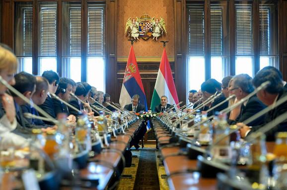Zajednička sednica vlada Mađarske i Srbije