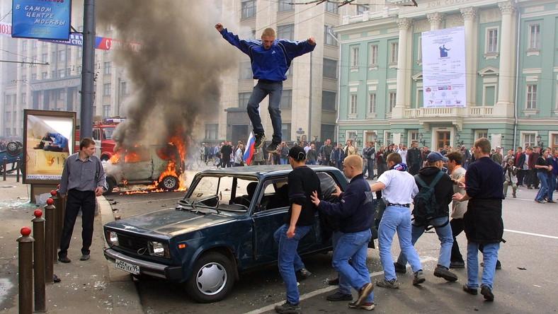 Rosjanie szykują się na mecz w Warszawie Będzie zadyma?