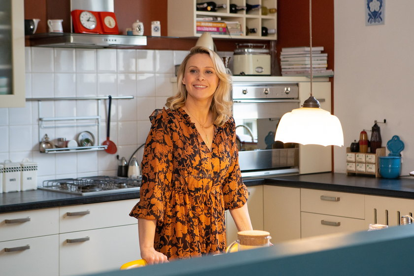 Paulina Holtz w kuchni