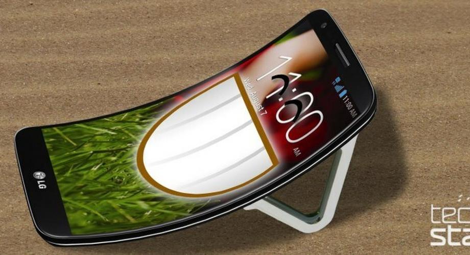 LG G Flex: Smartphone mit Biege-Display im November