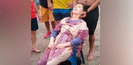 Zaginęła dwa lata temu. Znaleziono ją, gdy dryfowała po morzu [FILM]