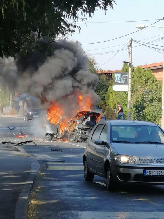 Eksplozija u Vojvode Stepe