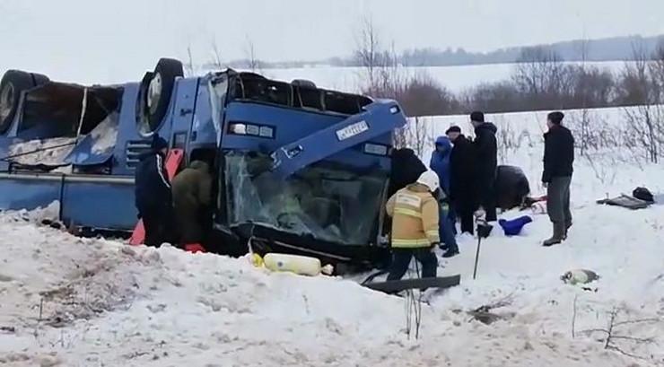 rusija autobuska nesreća