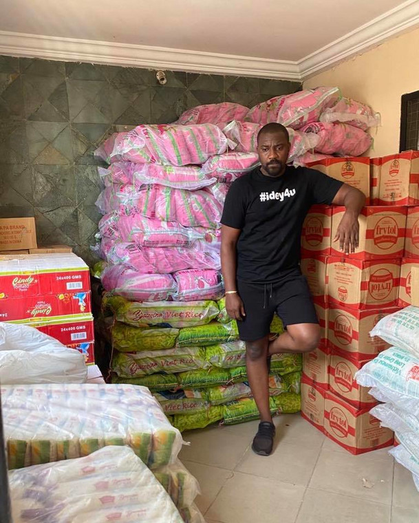 John Dumelo reaches out to the less privileged