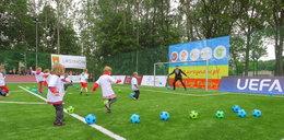 UEFA wyremontowała dzieciom boiska
