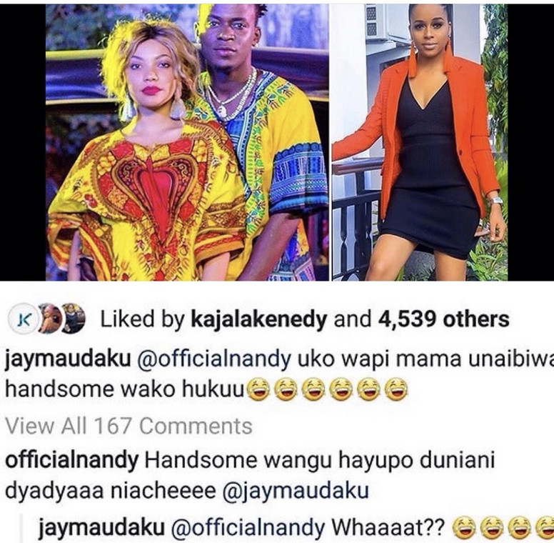 Nandy on dating Willy Paul (IG)