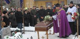 Pogrzeb matki, która zginęła ratując dzieci