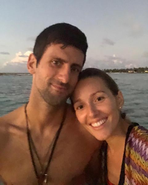 Jelena i Novak Đoković uživaju na Maldivima, a jedan privatni snimak pokazuje kako provode vreme! Video