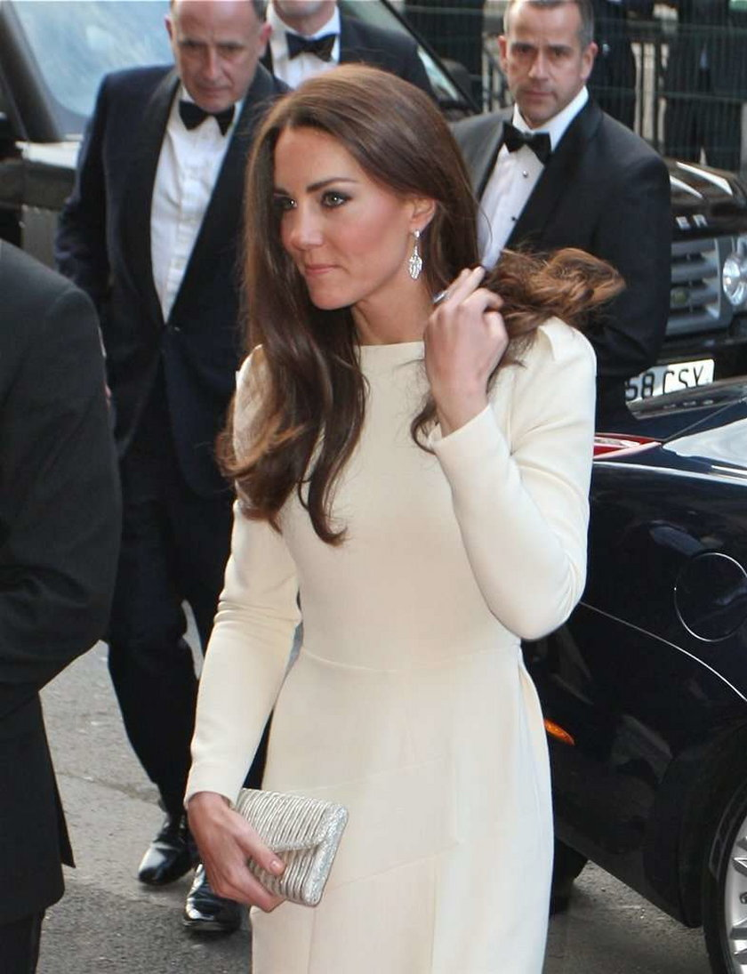 Księżna Catherine w bieli