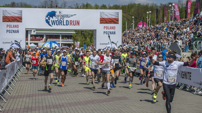 Wings for Life World Run: start 8 maja, godz.13