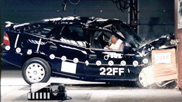 Opel Vectra - crash test
