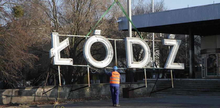 Neon Łódź Fabryczna musi zostać w Łodzi