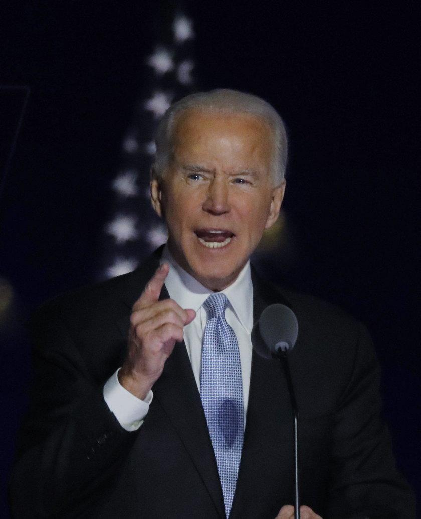 """Pierwsze przemówienie Bidena. """"Będę prezydentem, który chce łączyć"""""""