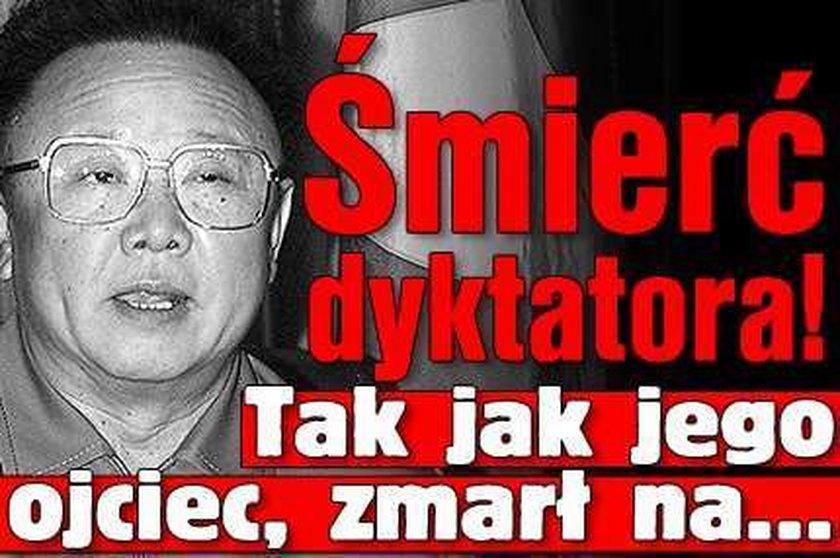 Śmierć dyktatora! Zmarł na...