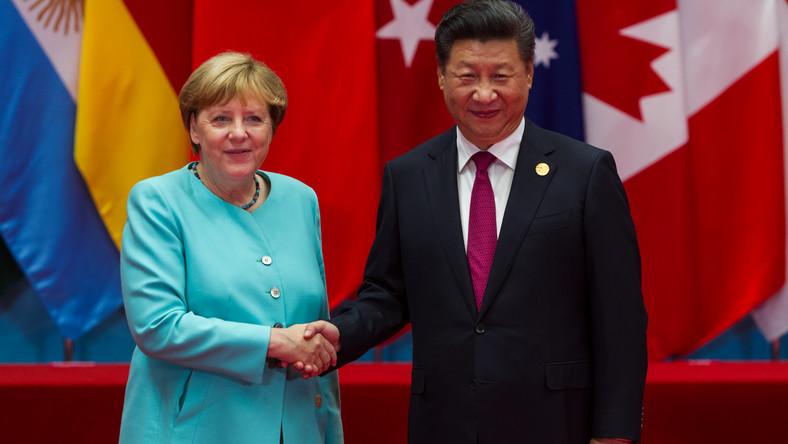 Angela Merkel i Xi Jinping