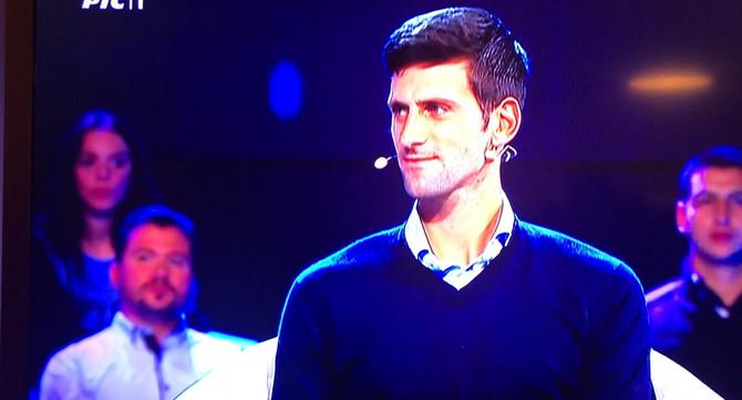 Novak Đoković u emisiji