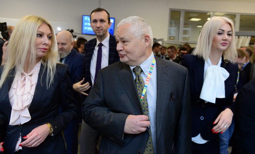 Adam Glapiński, Martyna Wojciechowska i Kamila Sukiennik