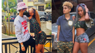 Rapper Noti Flow's girlfriend King Alami apologizes for being Violent towards her