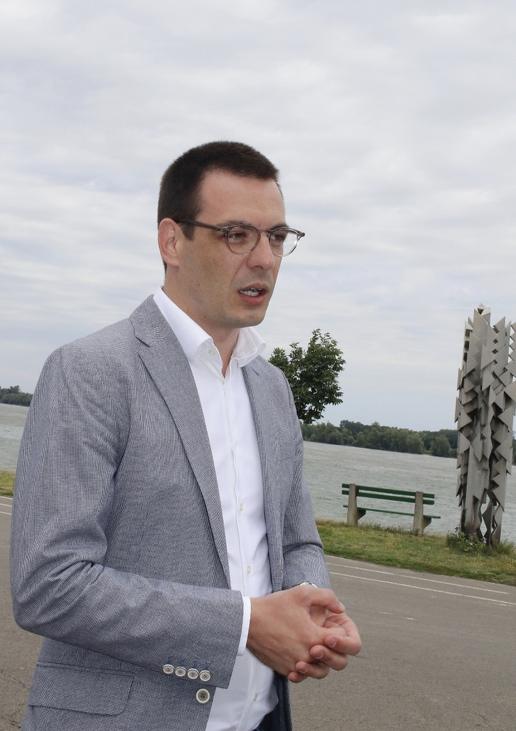 Predsednik opštine Stari grad Marko Bastać