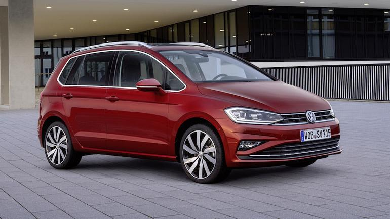 VW Golf Sportsvan po face liftingu