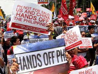 Hands Off to Philippines