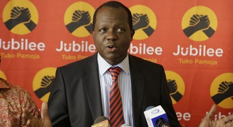 New Jubilee Party Secretary General Raphael Tuju.