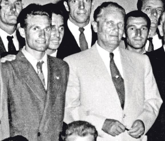 Sa maršalom Titom