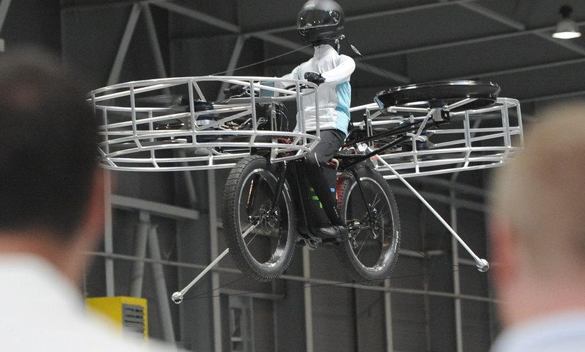 Czesi zrobili latający rower