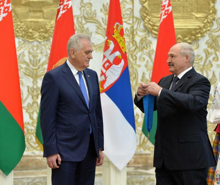 Tomislav Nikolić, Aleksandar Lukašenko