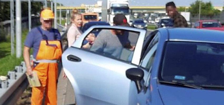 Katarzyna Warnke miała wypadek! Z auta odpadło koło. Co się stało? [ZDJĘCIA]