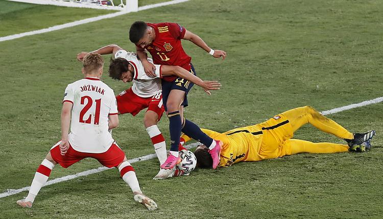 Hiszpanie twierdzą, że zasłużyli na zwycięstwo w meczu z Polską