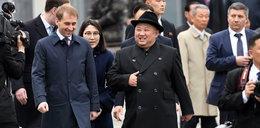 Kim przytelepał się do Putina