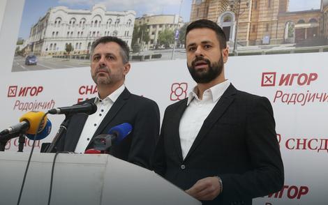 Igor Radojičić i Srđan Amidžić