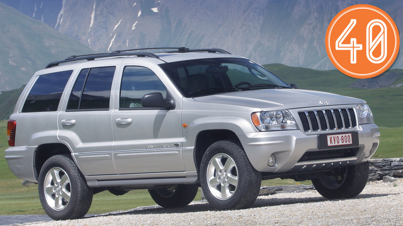Jeep Grand Cherokee II (1999-2004), od 14 000 zł