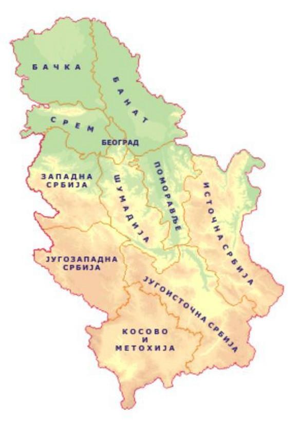 Upozorenje na nevreme u Srbiji