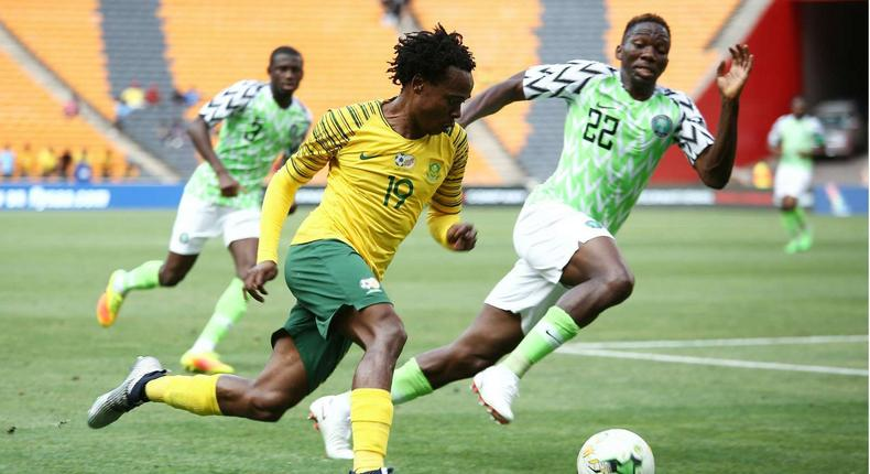 Since 1996, Nigeria and South Africa have been locked in a football rivalry (Goal/Getty Images)