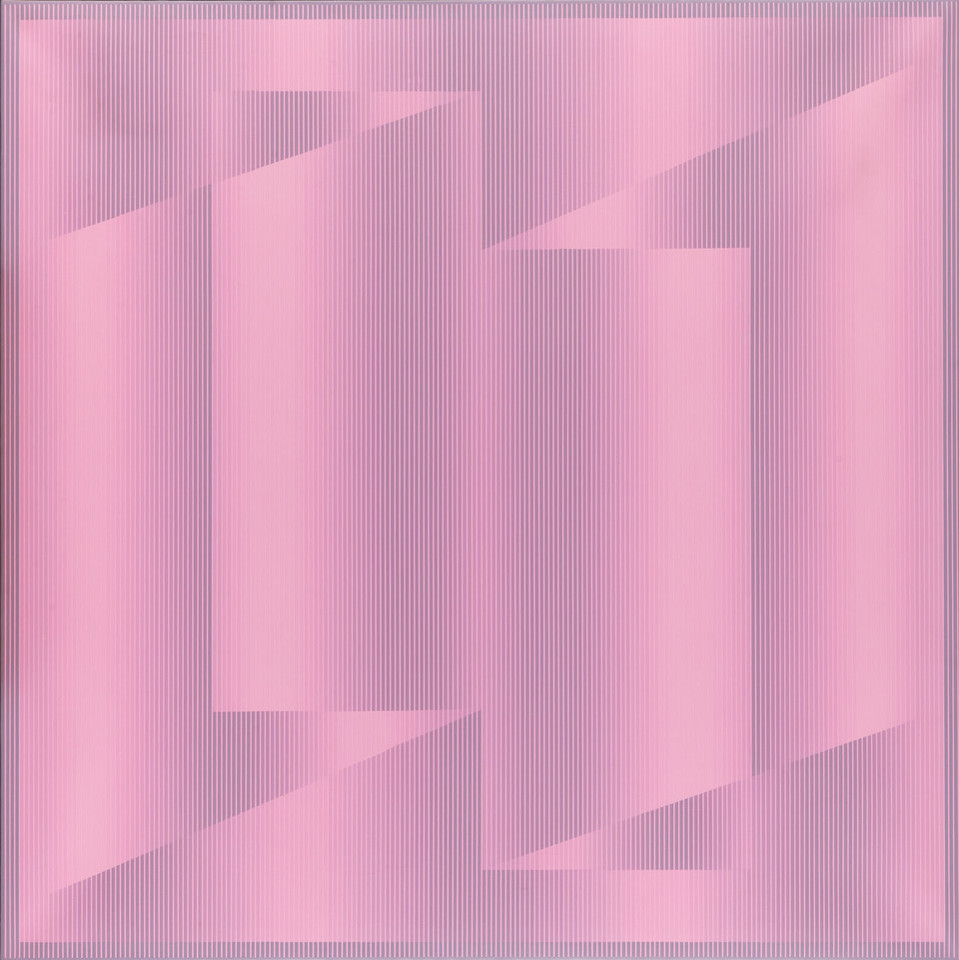 "Julian Stańczak, ""Turn Pink #2"" (1977)"