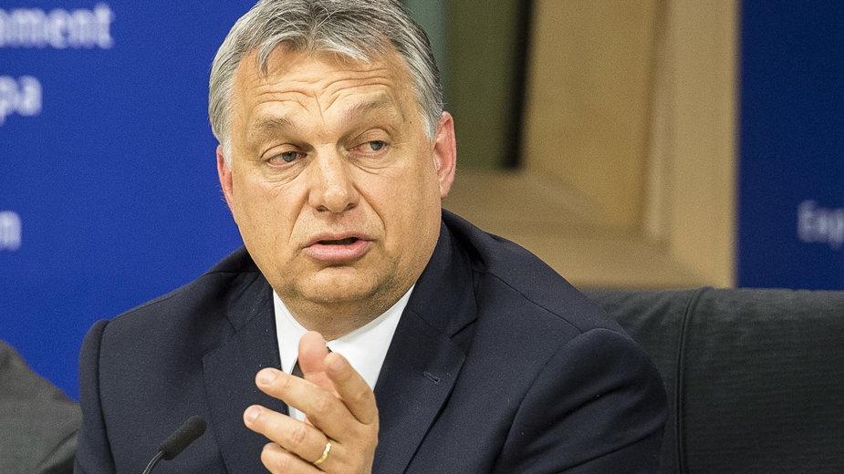 Premier Węgier Wiktor Orban