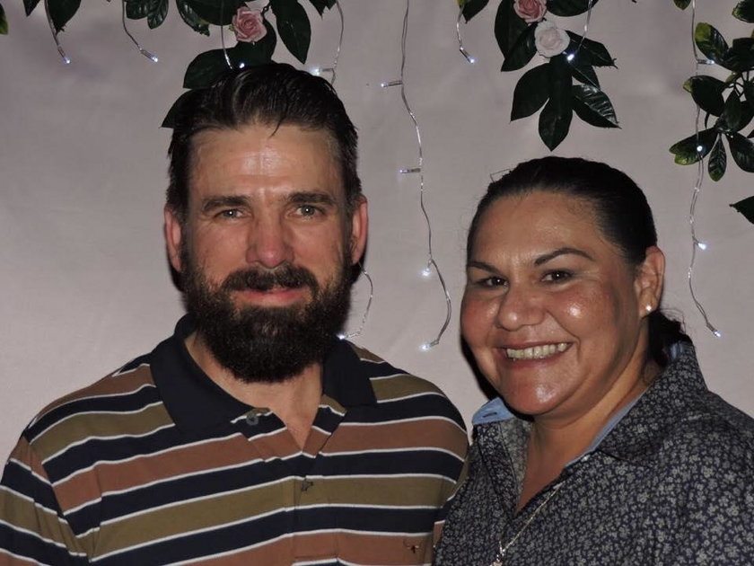 Dionne Connolly z mężem
