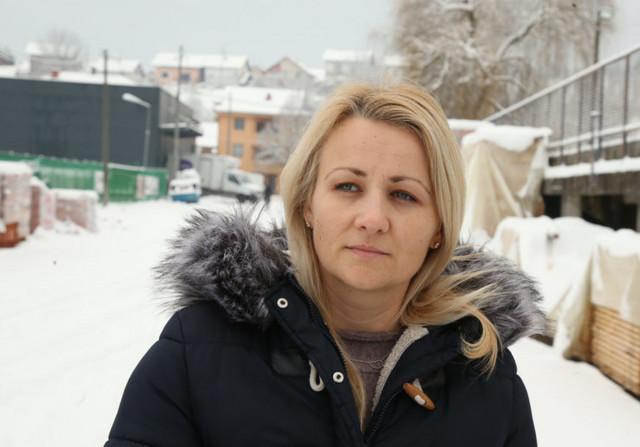 Nikolina Stanić, volonterka u Kostajnici