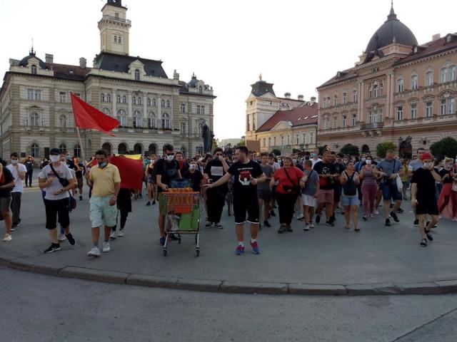 Trg slobode u Novom Sadu