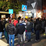 Protest zbog trola, Gundulićev venac
