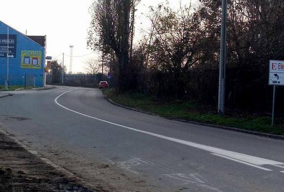 Ulica u kojoj je Dušan napadnut