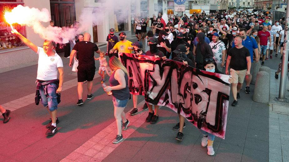 Marsz anty-LGBT w Katowicach