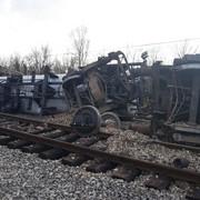 Iskliznuo voz iz šina kod Loznice
