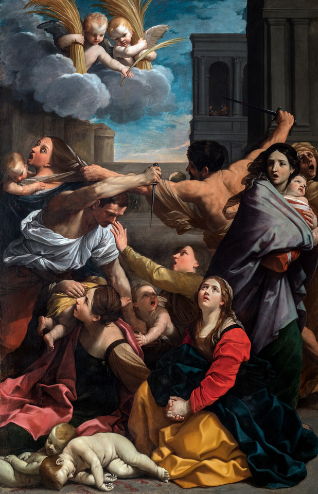 "Guido Reni. ""Massacre of the Innocents"" (Rzym, 1611)"
