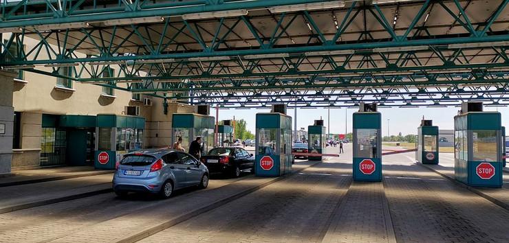 Horgoš, Mađarska, Granični prelaz
