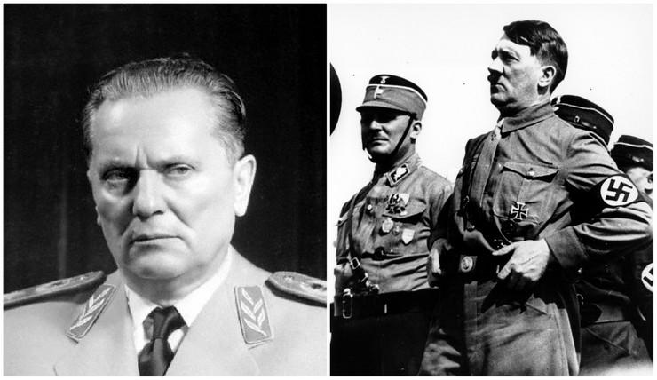 Josip Broz Tito i Adolf Hitler