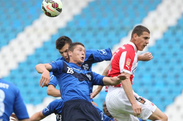 Darko Lazić iz perioda kada je nastupao za Crvenu zvezdu