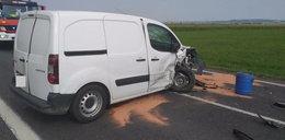 Śmierć na drodze pod Sanokiem. Zginęło dwóch mężczyzn